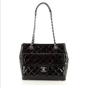Authentic Chanel Quilted Patent Bag
